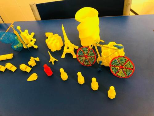 3D Printing and Designing in 3D Lab