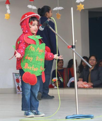 Grand Finale of Inter Pre – School Rhyme Competition